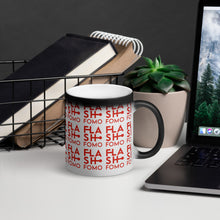 Carica l'immagine nel visualizzatore di Gallery, FLASHFOMO Flashy Matte Black Magic Mug