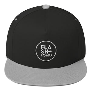 Embroidered Flat Bill Cap