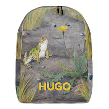 Load image into Gallery viewer, FROG Personalized Backpack - ADD YOUR NAME