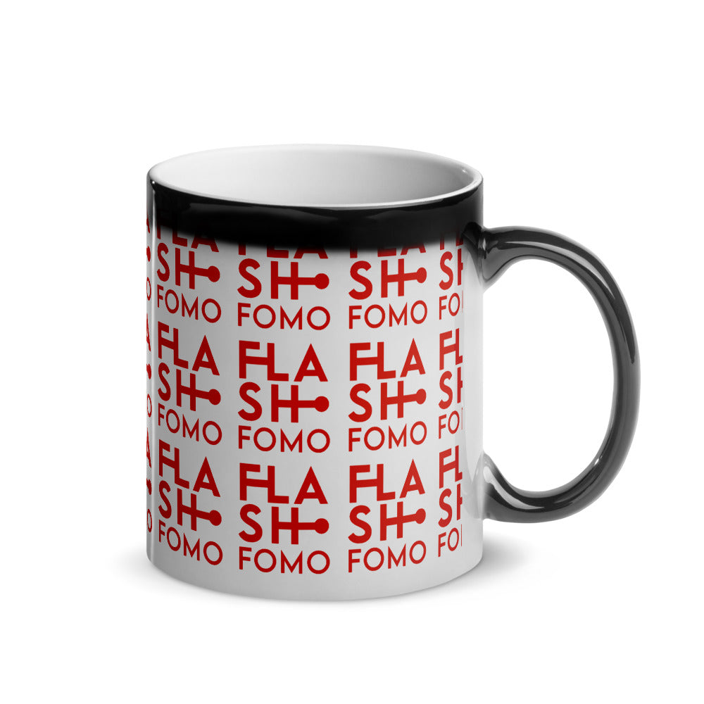 FLASHFOMO Flashy Glossy Magic Mug