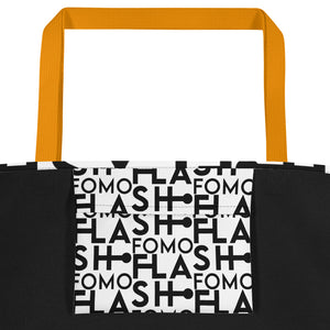 FLASHFOMO Block Beach Bag