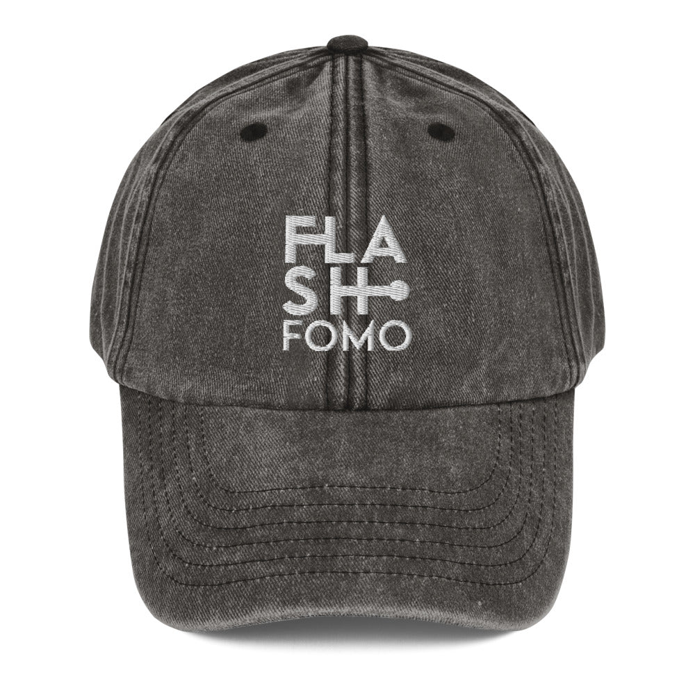 FLASHFOMO Bright Vintage Dad Hat