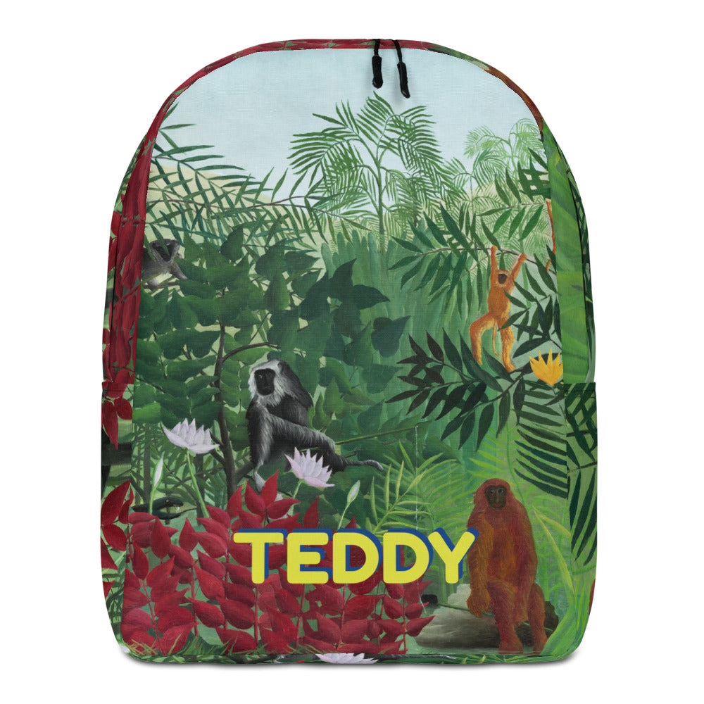 MONKEY Personalized Backpack - ADD YOUR NAME