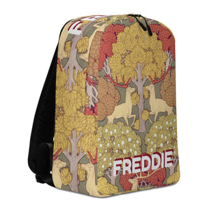 PRANCING DEER Personalized Backpack - ADD YOUR NAME