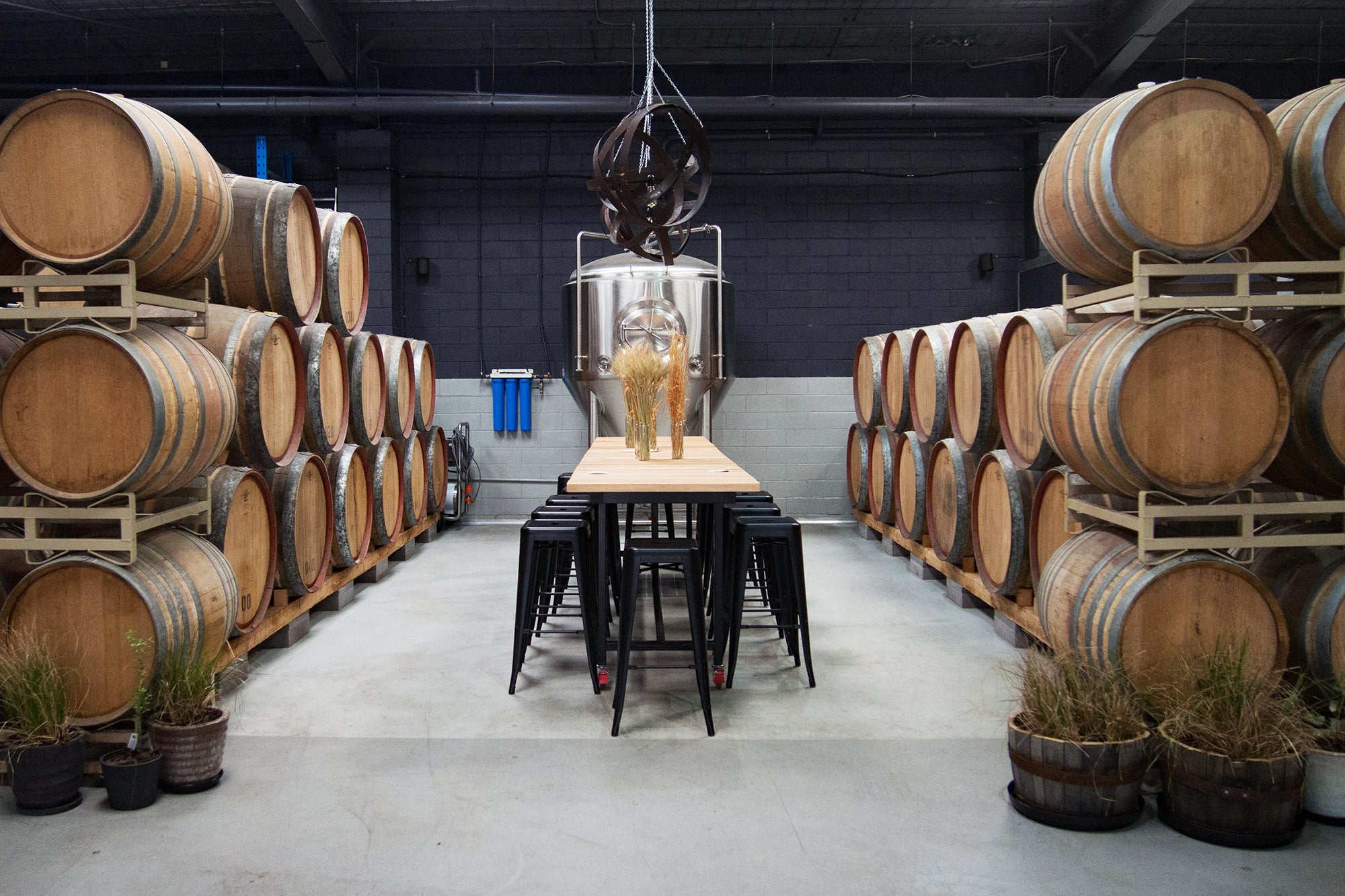 The Barrel Table