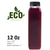 Eco Friendly Bottle 200 Pack Choose From These Sizes: 8, 12, & 16 oz (Includes Caps)