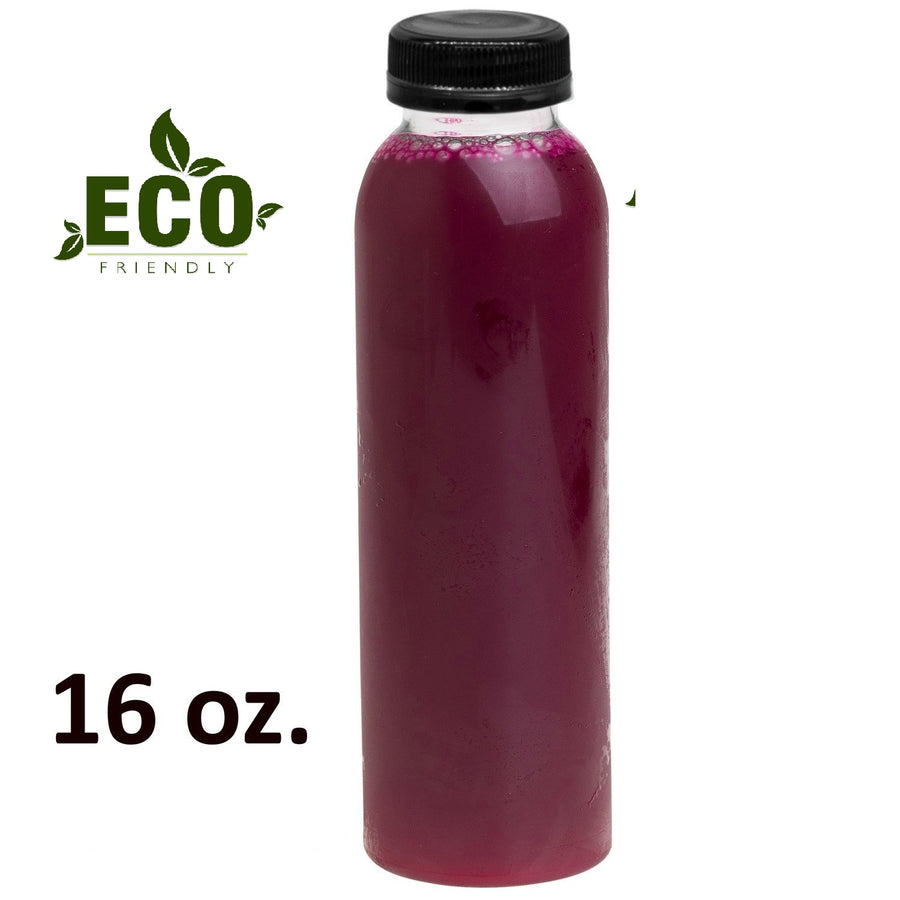 ECO FRIENDLY 16 oz  Round Energy Bottle Case of 372