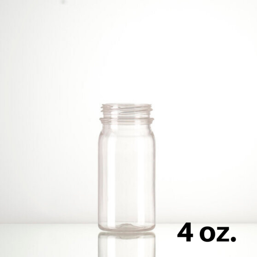 4 oz Round Energy Bottles Case of 650
