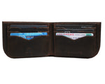 Chocolate Brown Saltrek Sherpa | RFID Slim Front Pocket Wallet