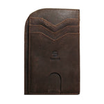 Chocolate Brown Saltrek Ultra Slim | RFID Slim Front Pocket Wallet