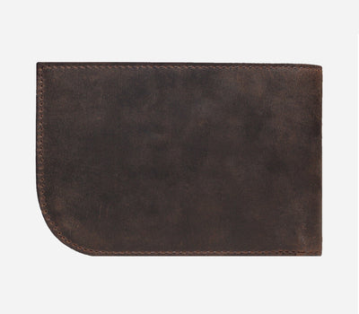 Chocolate Brown Billfold | Sherpa