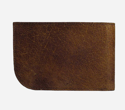Rugged Brown Billfold | Sherpa