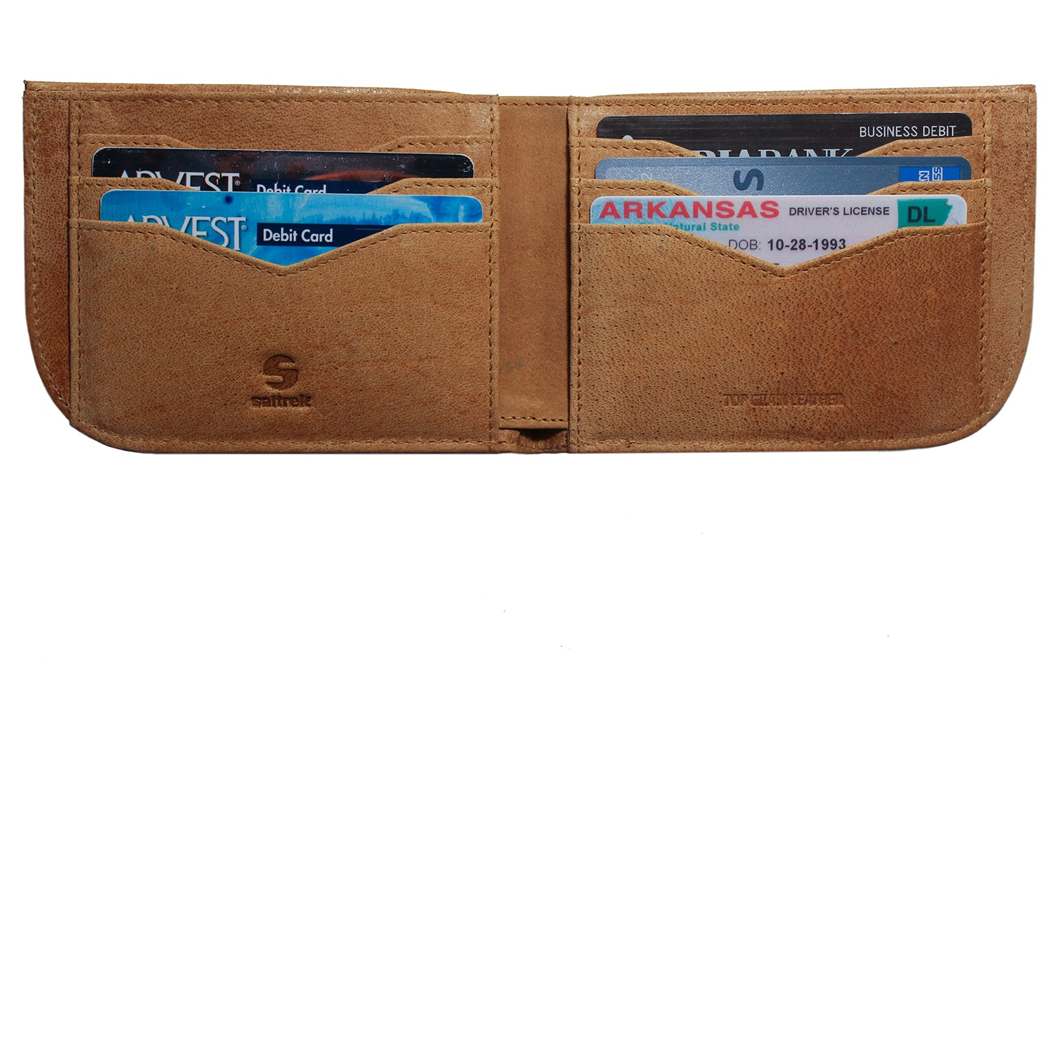 Rugged Camel Saltrek Sherpa | RFID Slim Front Pocket Wallet
