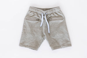Girls' Gray Athletic Shorts