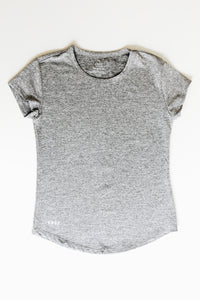 Girls Heather Gray Athletic Shirt