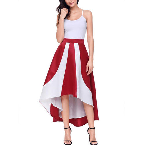Double Color Splicing Leisure Dress