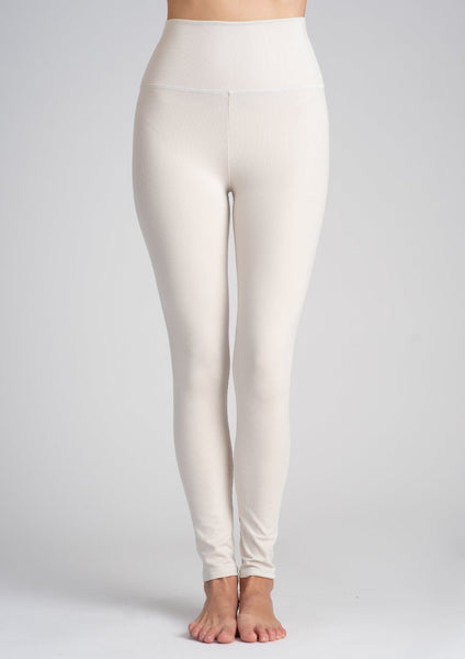 High Waist Rib Legging