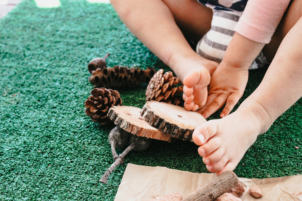 how to bring nature play into your home (guest post - Ark and Luna🌙)