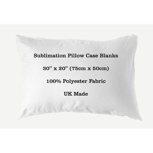 Sublimation Pillow Case Blank 100% Polyester 30
