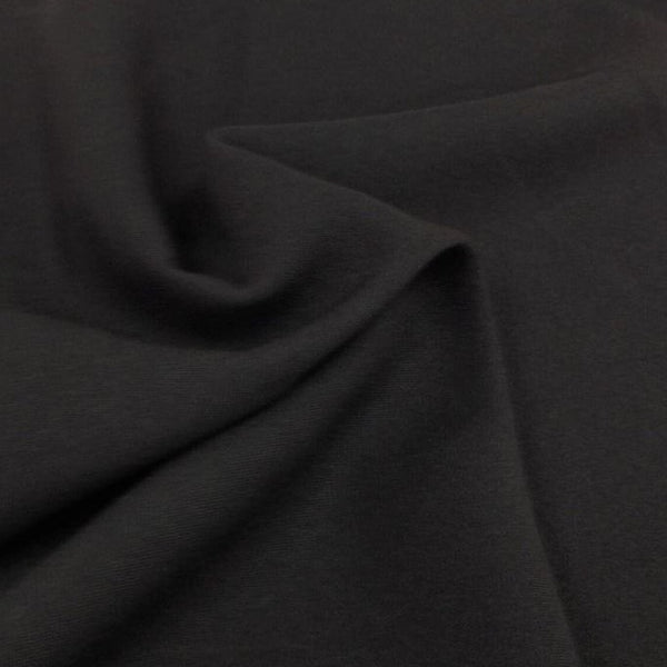 Dark Grey Bi-Stretch Polyester Suiting Fabric - By the metre