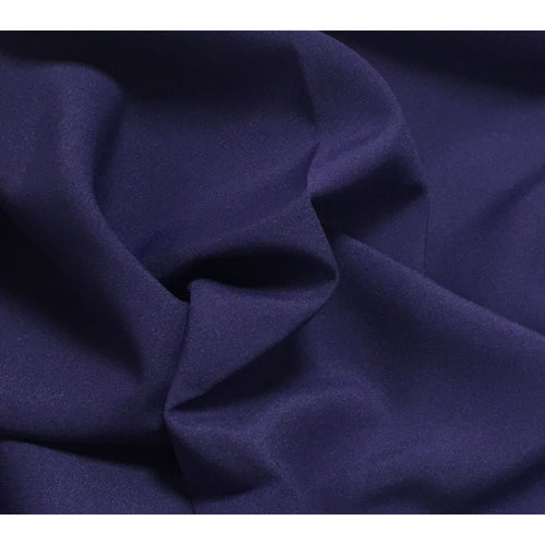 Purple Bi-Stretch Polyester Suiting Fabric - By the metre