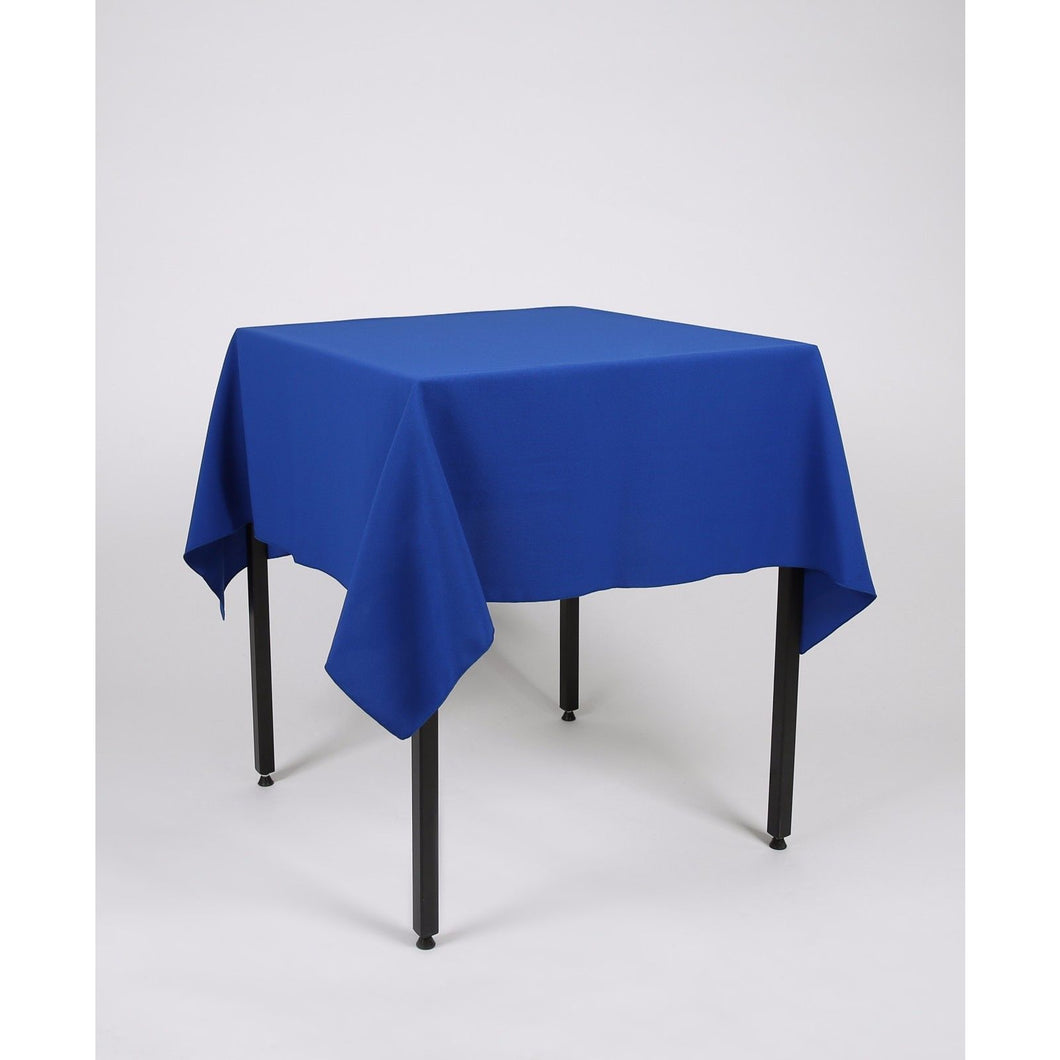 Royal Blue Polyester Fabric Table cloth - Extra Wide Suitable for weddings, parties, christenings