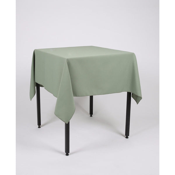 Sage Green Polyester Fabric Table cloth - Extra Wide