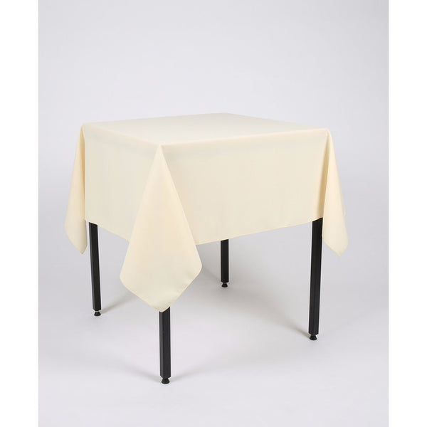 Vanilla Polyester Fabric Table cloth - Extra Wide