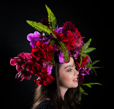 FLOWER HALOS and Avant Garde Hair Flowers