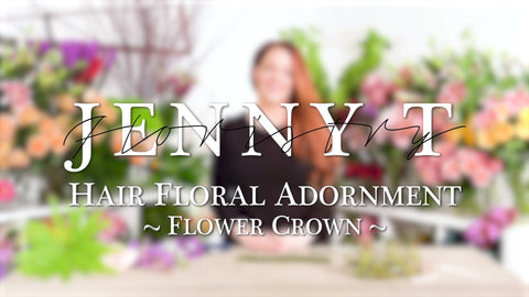 Hair Floral Adornment