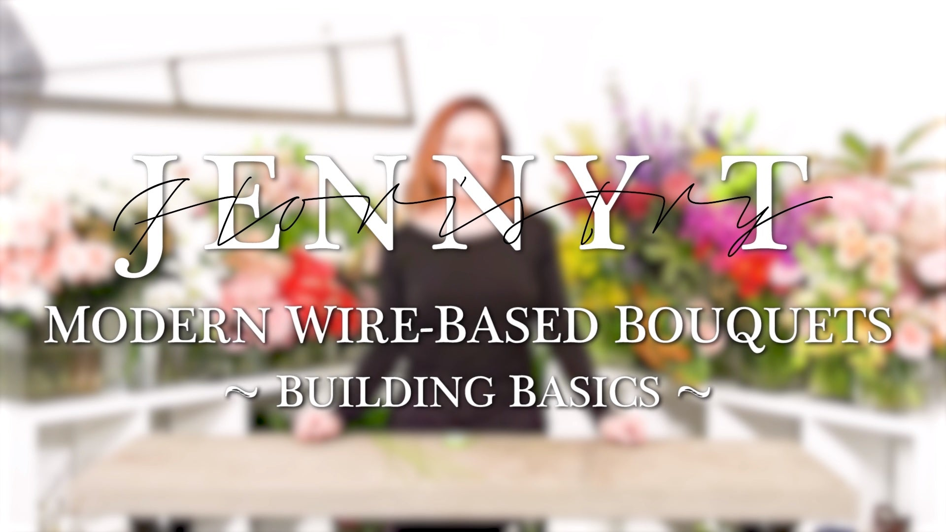 Modern Wire-Based Bouquets