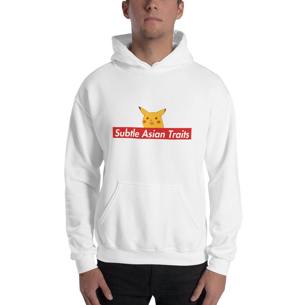 SAT Pikachu Hoodie (Male) - Subtle Asian Clothing