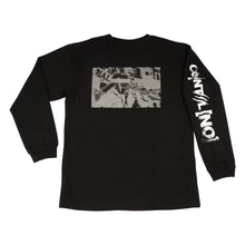 Load image into Gallery viewer, COINTEL[NO] Black Long-Sleeve Shirt