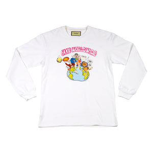 Fake Worldwide White Long-Sleeve Shirt