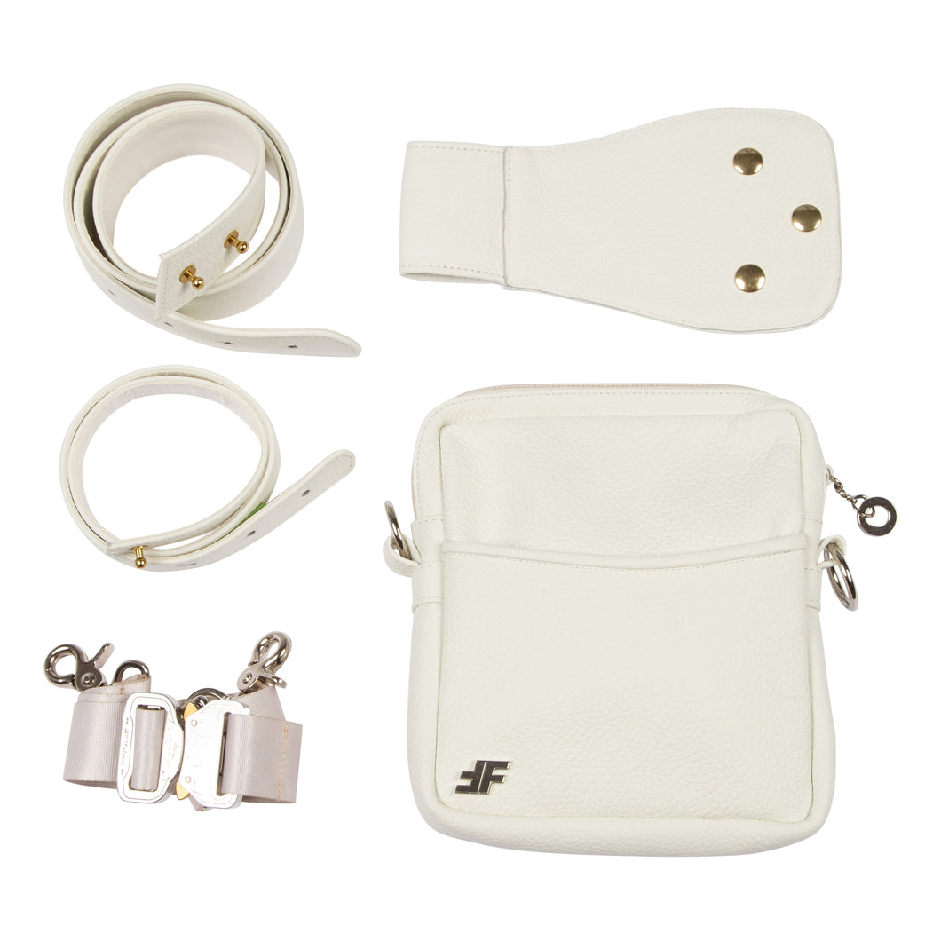 Plus-Ultra White Utility Bag