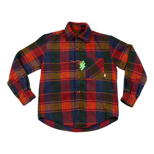 Fall Leaves Wool Flannel
