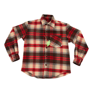 Wood Cutter Wool Flannel