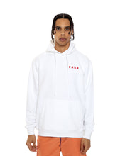 Load image into Gallery viewer, White FF Pullover Hoodie