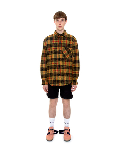 Caution Wool Flannel