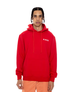 Red FF Pullover Hoodie