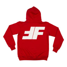 Load image into Gallery viewer, Red FF Pullover Hoodie