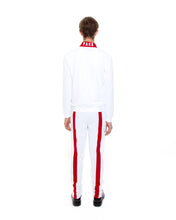 Load image into Gallery viewer, White Strike Track Jacket