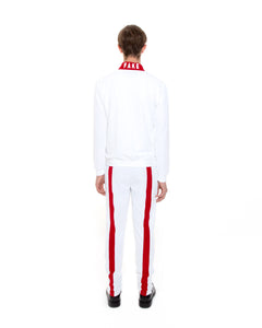 White Strike Track Jacket