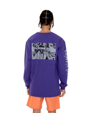 Load image into Gallery viewer, COINTEL[NO] Purple Long-Sleeve Shirt