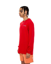 Load image into Gallery viewer, COINTEL[NO] Red Long-Sleeve Shirt