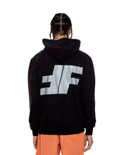 Load image into Gallery viewer, Black FF Pullover Hoodie