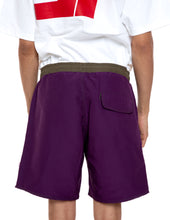 Load image into Gallery viewer, Purple Bored Shorts