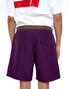 Purple Bored Shorts