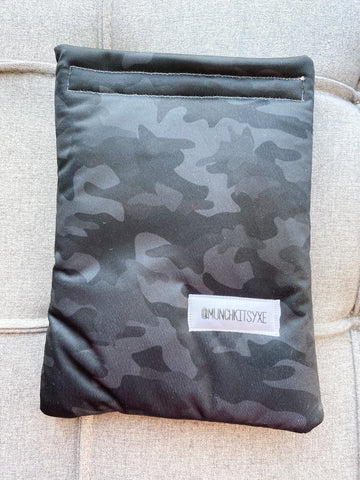 Black Camo Reusable Bag