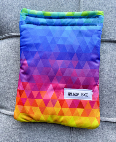 Rainbow Geo Reusable Bag